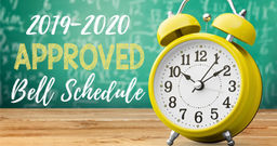 Coachella Valley Unified School District 2019/2020 Bell Schedule
