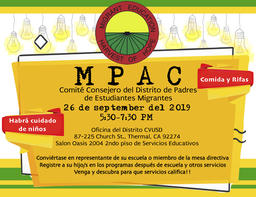 MPAC Migrant Education